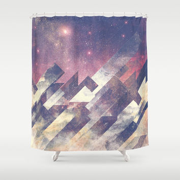The stars are calling me Shower Curtain by HappyMelvin