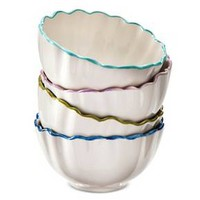 Boho Boutique Isabella Ruffle Bowl - Set of 4 : Target