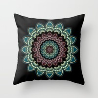 Mandala I Throw Pillow by VanessaGF | Society6