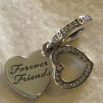Pandora Charms, Beloved Mother, Forever Friends Charm, Mom Charms, Mothers Day Charm, Family Charms, Authentic