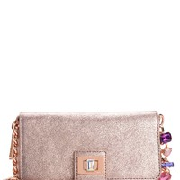 Couture Clash Leather Crossbody Wallet by Juicy Couture