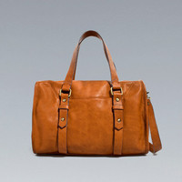 SOFT BOWLING BAG - Handbags - TRF - ZARA United States