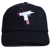 The Spread Love Dad Hat in Black