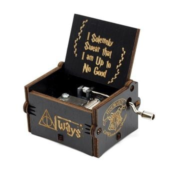 Star Wars Force Episode 1 2 3 4 5 25 Style New Black Music Box Game Of Thrones   Beauty And The Beast Hand Cranked Theme Music Birthday Gifts AT_72_6