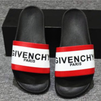 GIVENCHY PARIS andals Comfortable Loose Slippers(3 color) white-red