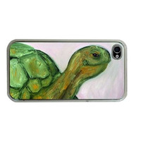 Tortoise iPhone Case 4/4S, iPhone Cover 3G/3GS, iPod Touch 4G - Howe