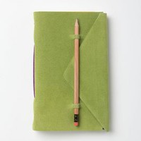 Slipped-In-Suede Journal by Anthropologie