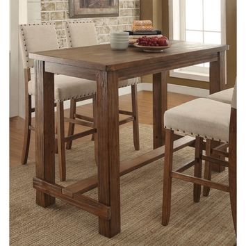Furniture of America Telara Contemporary Natural Bar Table | Overstock.com Shopping - The Best Deals on Bar Tables
