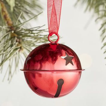 Red Jingle Bell Ornament