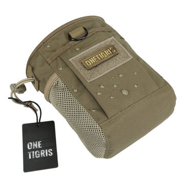 OneTigris Magazine Pouch Chalk Bag For Rock Climbing Weight Lifting Bouldering Gymnastics Airsoft Multiple Pockets for Securely
