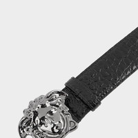 Versace Croc Print Palazzo Belt for Men | US Online Store