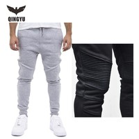 Mens Jogger 2017 Splicing Stripes Mens Joggers Cargo Male Trousers Sweatpants Harem Pants Men Jogger Pants Men Pantalones Hombre