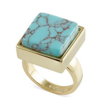 Shiny Jewelry New Arrival Stylish Gift Turquoise Ring [4956902212]