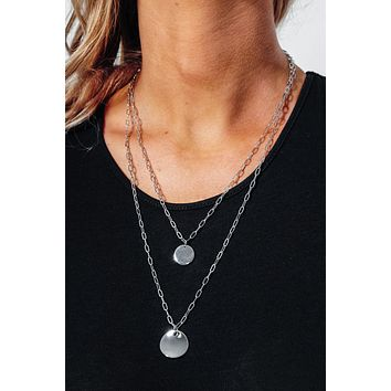 Classic Times Necklace: Silver
