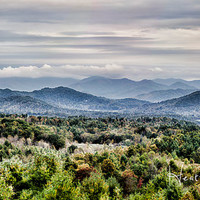 Gallery Wrap Canvas - Smoky Mountains Panorama - Choose a size