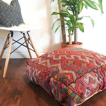 Floor Pillows Moroccan : Best Moroccan Berber Pillows Products on Wanelo