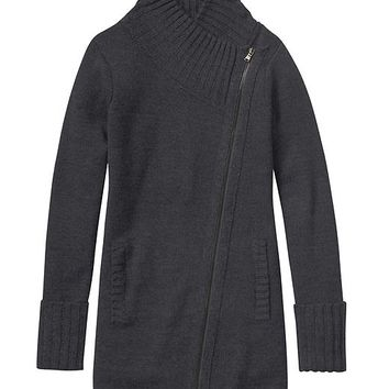 Athleta Womens Chill Factor Sweater Coat