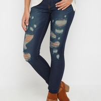 Destroyed Jegging By Sadie Robertson X Wild Blue   Jeggings   rue21