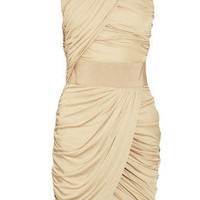 Giambattista Valli | Draped jersey dress | NET-A-PORTER.COM