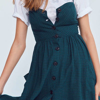 Cooperative Emilia Linen Button-Down Midi Dress | Urban Outfitters