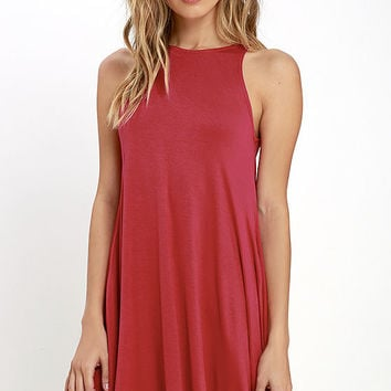 Tupelo Honey Berry Red Dress