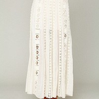 Free People  FP ONE Ribbon Corset Maxi at Free People Clothing Boutique