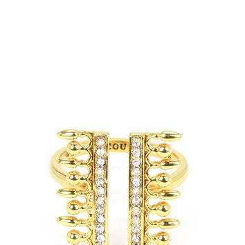Pearl And Pave Ring by Juicy Couture