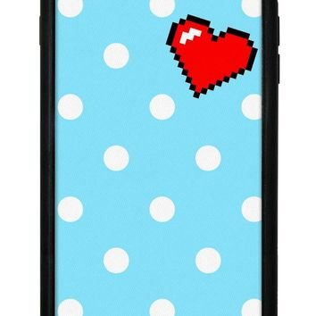 Digi Heart iPhone 6/7/8 Plus Case