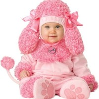 InCharacter Unisex-baby Infant Poodle Costume, Pink, Medium