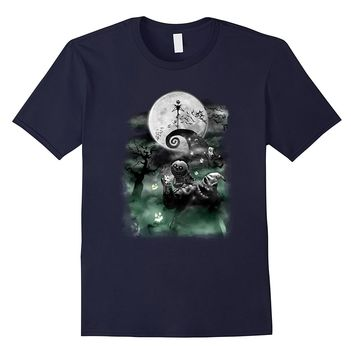 Disney The Nightmare Before Christmas Haunted Scene T-Shirt