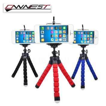 Universal Camera Phone Holder Mini Flexible Sponge Tripod Bracket For iPhone Samsung Stand Mount  Accessories