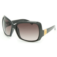 Electric Velveteen Sunglasses Black Gloss/Brown One Size For Women 15070218001