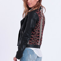 Back In Black Moto Jacket