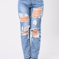 Ryan Boyfriend Jeans - Medium