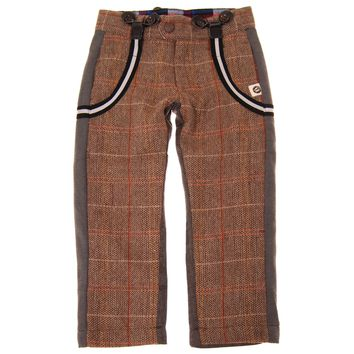 Tweed-Herringbone Suspender Baby Pants by: Mini Shatsu