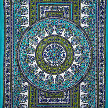 Hippie Mandala Tapestry, Hippie Tapestries, Wall Tapestries, Tapestry Wall Hanging, Indian Tapestry, Bohemian Bedding Psychedelic tapestry
