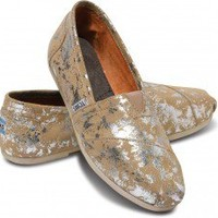 Sand Brushed Metal Women's Classic | TOMS.com