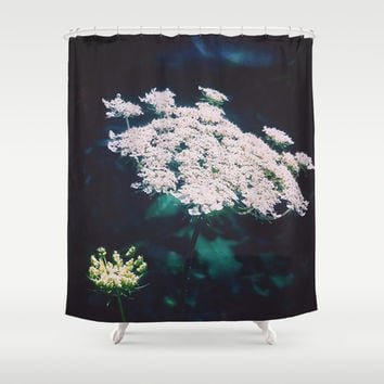 Anne's Lace Shower Curtain by DuckyB (Brandi)
