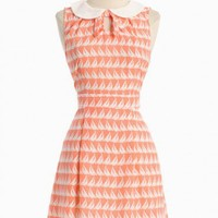 come sail away print dress