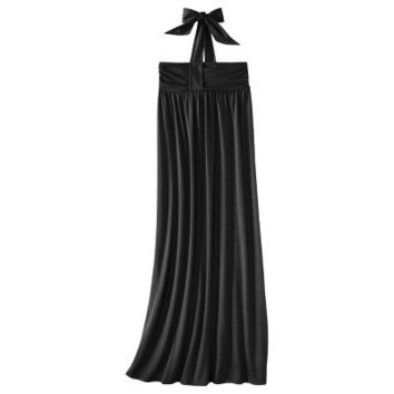 Mossimo Supply Co. Juniors Halter Maxi Dress - Assorted Colors