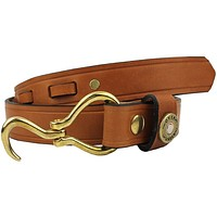 Hoof Pick Belt in London Tan by Over Under Clothing