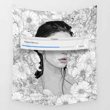 memory Wall Tapestry by pedrotapa