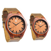 Couples Wooden Watches // Rouge