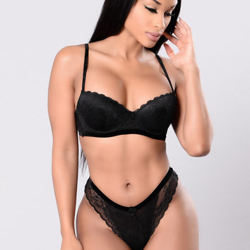 Spiteful Bra - Black