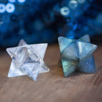 Moon Magic Merkaba Duo for alignment, light, amplification, and ascension