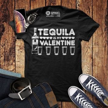 Tequila is my Valentine T-Shirt