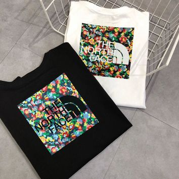 hcxx 2075 The North Face Digital Flower Printing T-Shirt