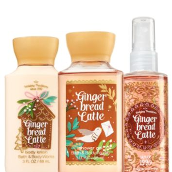 Travel Size Daily Trio Gingerbread Latte
