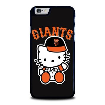 HELLO KITTY SAN FRANCISCO GIANTS iPhone 6 / 6S Case Cover