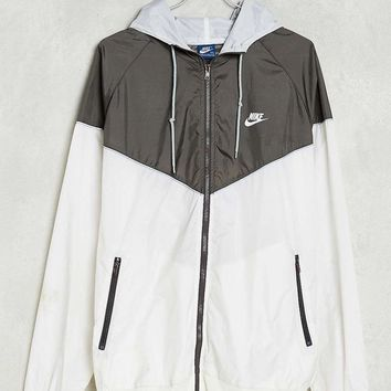 NIKE Fashion Running Gym Sport Cardigan Jacket Coat Windbreaker